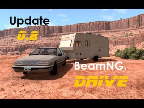 BeamNG. Drive - 0.8 - Bruckell LeGran | Travel Trailer | Preview | Crash Testing