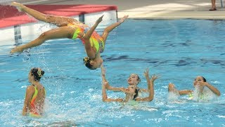 Synchronised Swimming (Combination Free) Gold - Singapore