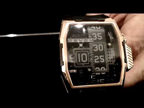 Haute Time Presents: Ehren Bragg Of Devon Timepieces at Basel World 2012