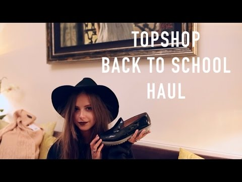 Topshop Adorkable Haul | Back to School | sunbeamsjess