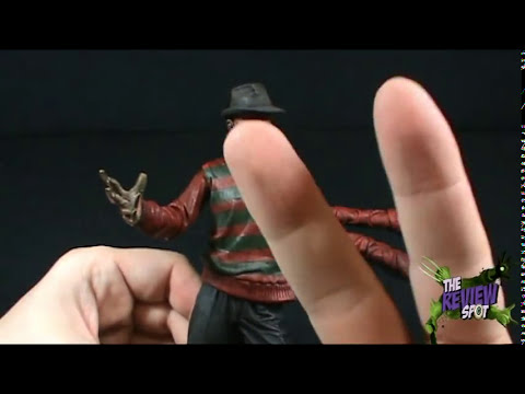 Spooky Spot - Neca Freddy Krueger as seen in A Nightmare on Elm street