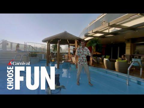 Carnival's Vista Effect with Zach King- Havana Pool