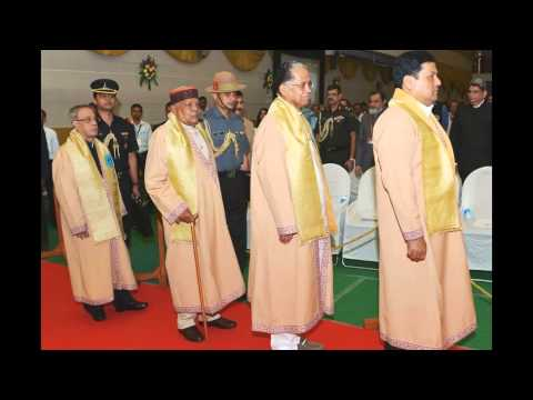 Slideshow-Hon'ble Rastrapathyji-Tezpur in Assam-CONVOCATION -edweepNews(iNDiA)