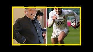 Bangla News: Kim jong-un to invite England rugby ace jonny may to North Korea to