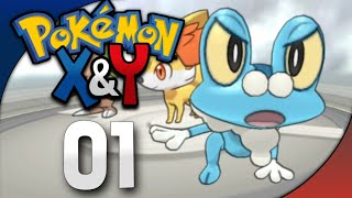 MY SPECIAL FROAKIE !🔥| Pokemon X&Y Gameplay EP01 In Hindi