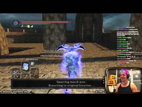 Hacker Earthquake! - Dark Souls 2 Pvp video