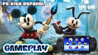 Gameplay Epic Mickey 2 Ps Vita | Ps Vita ESPAÑOL