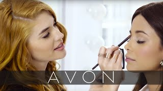 Full Face of Makeup using only Avon Products