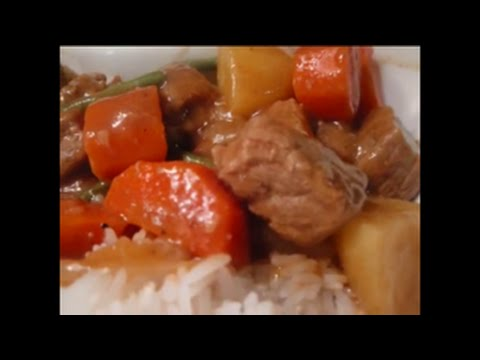 Japanese Beef Curry (Pinoy Style)