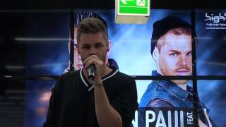 """Lose Control"" - Damon Paul feat. Daniel Schuhmacher - Berlin AGS im Saturn am 13.09.2014"