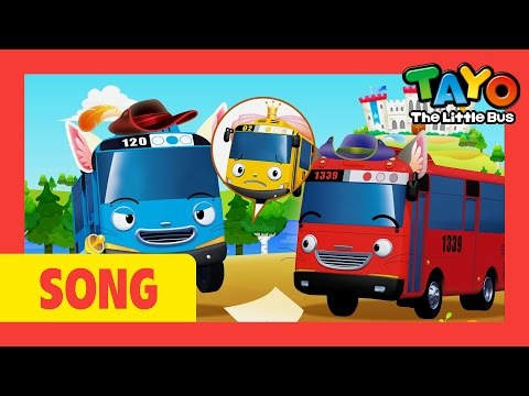 Tayo Song Pussy Cat Pussy Cat l Nursery Rhymes l Tayo the Little Bus