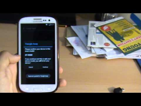 Reset Flash Counter TriangleAway Samsung Galaxy S4/S3/S2/Note/Note 2