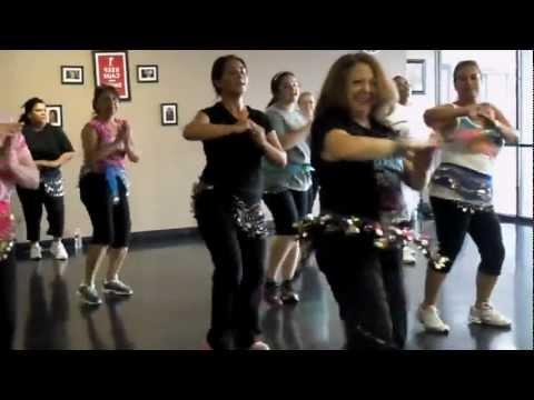 Zumba Fitness.belly Dancer.yerba Buena video