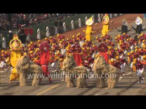 Saungi Mukhovta, folk dance of Maharashtra