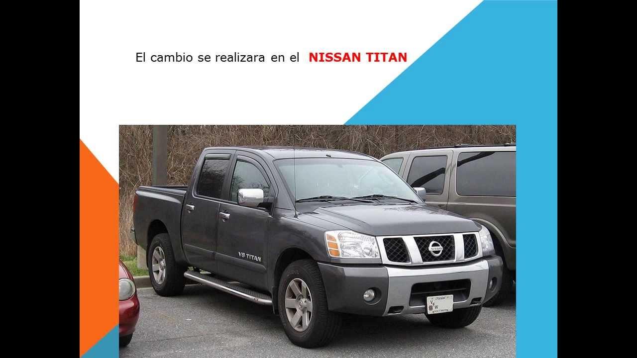 Como Cambiar El Filtro De Cabina Aire Acondicionado Nissan Titan Youtube