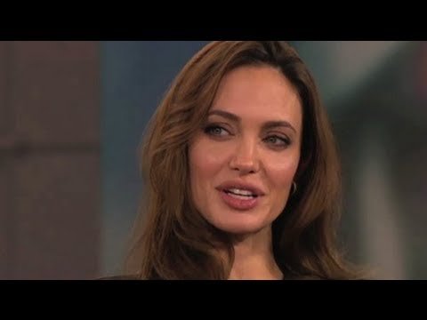 Angelina Jolie Talks