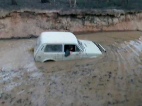 lada niva in extreme deep water prt 1