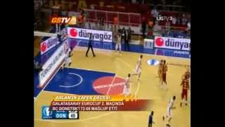 EUROCUP 2.HAFTA | Galatasaray Medical Park 72-68 BC Donetsk