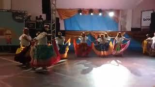 Dança do pitiu no festival de dança em castanhal Pará Brasil