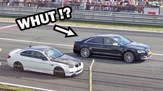 Audi S8 takes on supercars and muscle cars