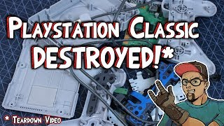 PlayStation Classic Hacking News & Tear Down Of Console & Controller!
