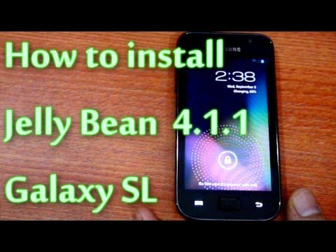 How to Install Jelly Bean (CM10) on i9003 Samsung Galaxy SL
