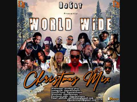DANCEHALL MIX DECEMBER 2018 DJ GAT WORLD WIDE CHRISTMAS FT VYBZ KARTEL  /ALKALINE/AIDONIA/ thumbnail