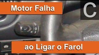 Dr CARRO Motor Falha ao Ligar o Farol