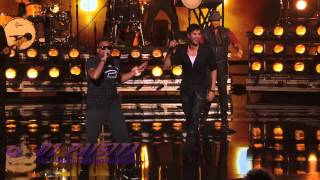 Enrique Iglesias and Sean Paul Get the Crowd Going With Bailando dj paisita