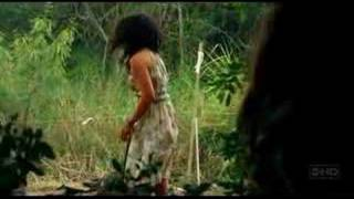 Kate from Lost digging in dress