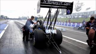ANDRA Drag Racing - Most bizarre Top Fuel race?