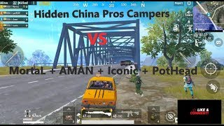 China Pros vs  SOUL | Ultimate Bridge Campers | SOUŁ々MortaL | SOUŁ々Aman | PUBG MOBILE