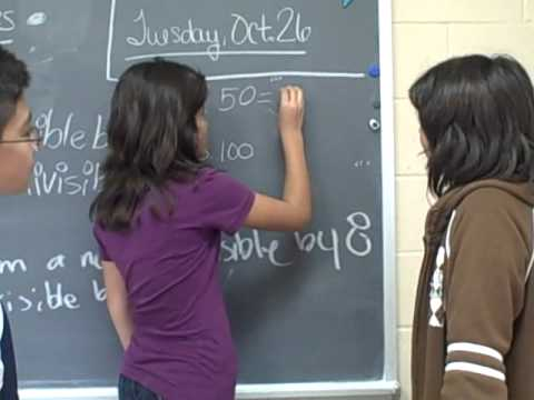 Divisibility Rules - The Chinquapin School - 6th Grade