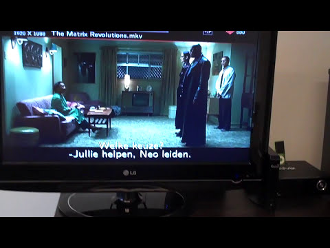 Xtreamer playing Full HD MKV/H.264 movie