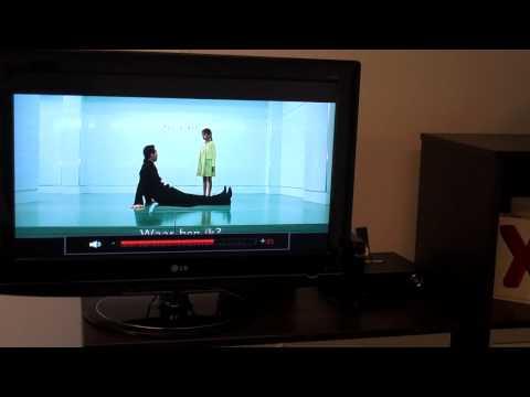 Xtreamer playing Full HD MKV/H.264 movie