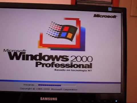 instalacion del sistema operativo  windows 2000