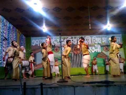 Assamese Bihu Dance Competition(junior) video