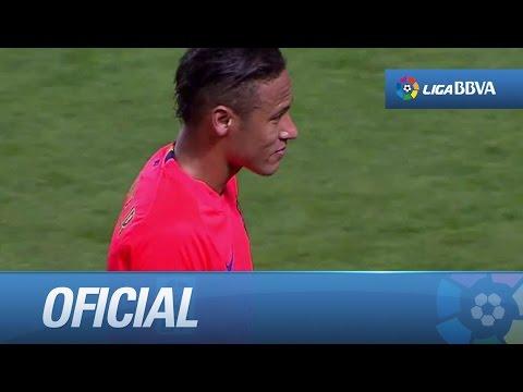 Neymar enfadado por el cambio