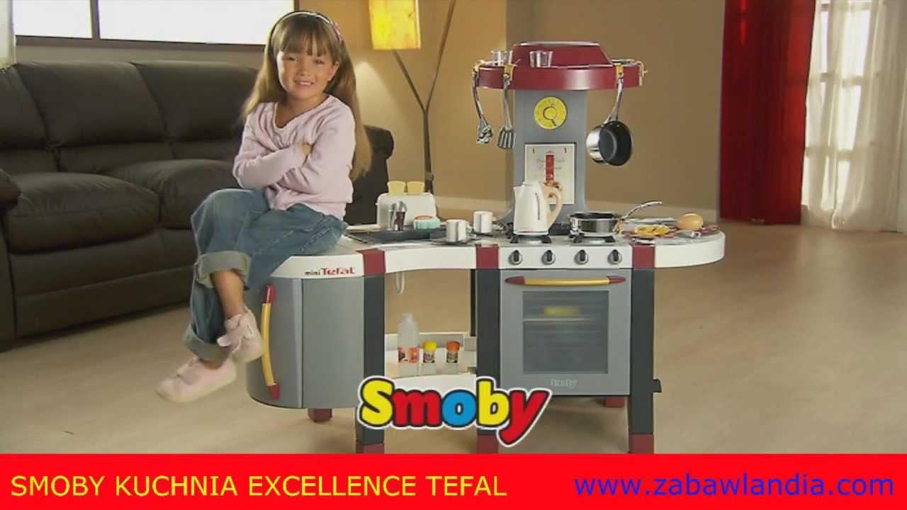 Smoby Kuchnia Excellence Tefal od  ZABAWLANDIA   YouTube