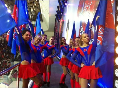 Группа поддержки ЦСКА присоединились к Mannequin Challenge