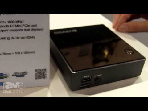 DSE 2015: Gigabyte Talks About BRIX Haswell for POS Applications