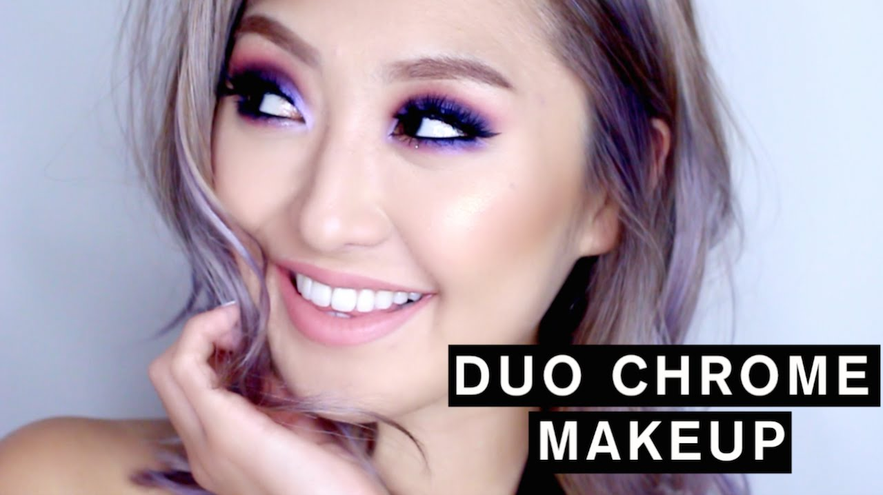 Fashionista804 Makeup Tutorial DUO CHROME MAKEUP Duration