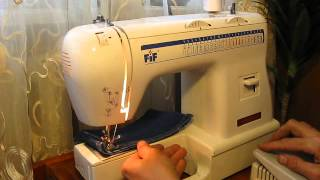 Sewing machine Швейная машина FIF NM 800 test