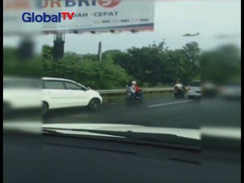 Pinang Ranti banjir, pengendara motor diizinkan masuk tol Taman Mini - BIS 21/04