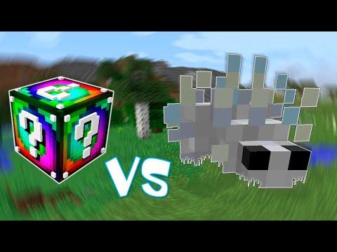 Спиральный Лаки Блок VS Шмыга Титан! - Лаки Битва #18