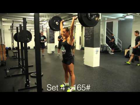 Crossfit - WOD 121010 Demo Dave Lipson and Camille Leblanc-Bazinet