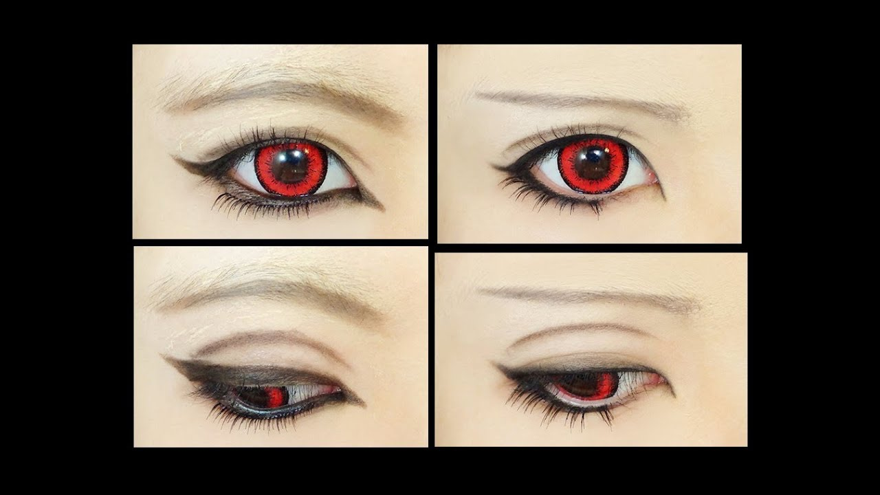 Cat Anime Eye Shapes