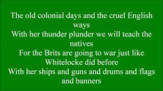 Admiral William Brown with lyrics