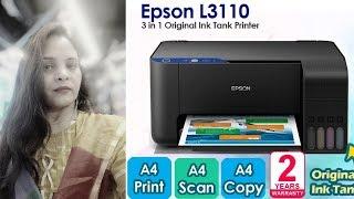 EPSON L 3110 ecotank new latest PRINTER 2019   hindi   ALL XYZ Knowledge   Take information then buy