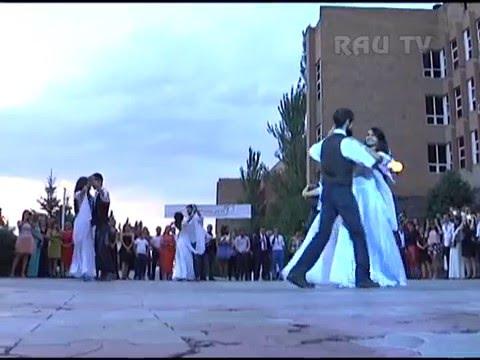 Свадьба в РАУ!!! В главных ролях: Рипсиме Маргарян и Арман Сафарян.